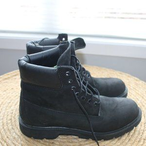 Men's Black Timberland boots 9 M